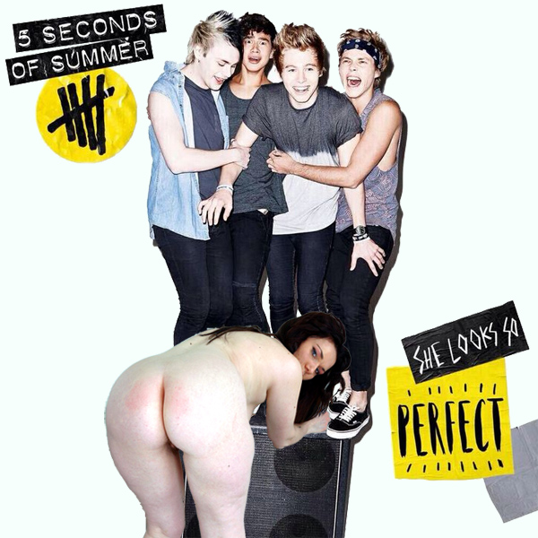 Cover Artwork Remix of 5 Seconds Of Summer She Looks So Perfect