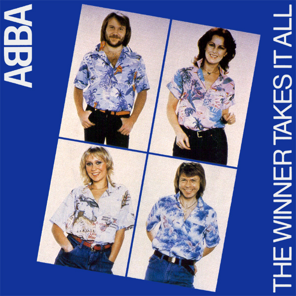 Original Cover Artwork of Abba The Winner Takes It All