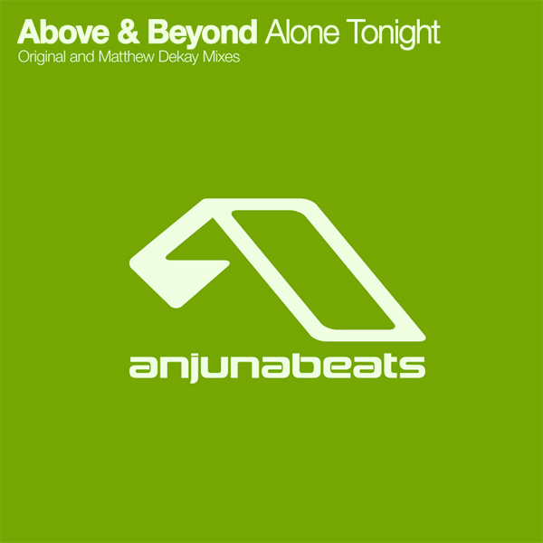 Original Cover Artwork of Above Beyond Alone Tonight