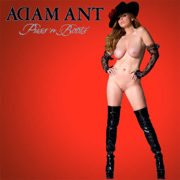 Cover Artwork Remix of Adam Ant Puss N Boots