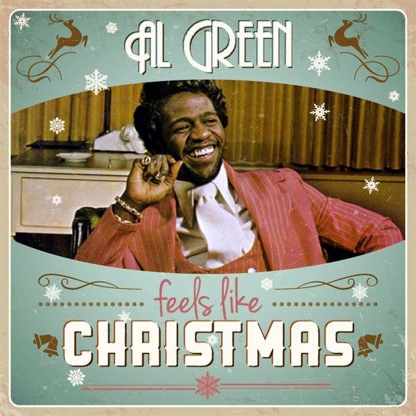 Original Cover Artwork of Al Green Feels Like Christmas