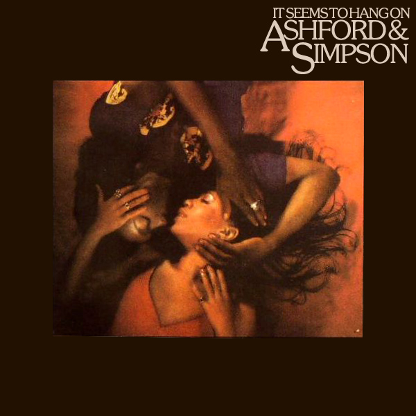 Original Cover Artwork of Ashford Simpson It Seems To Hang On