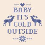 Original Cover Artwork of Baby Its Cold Outside