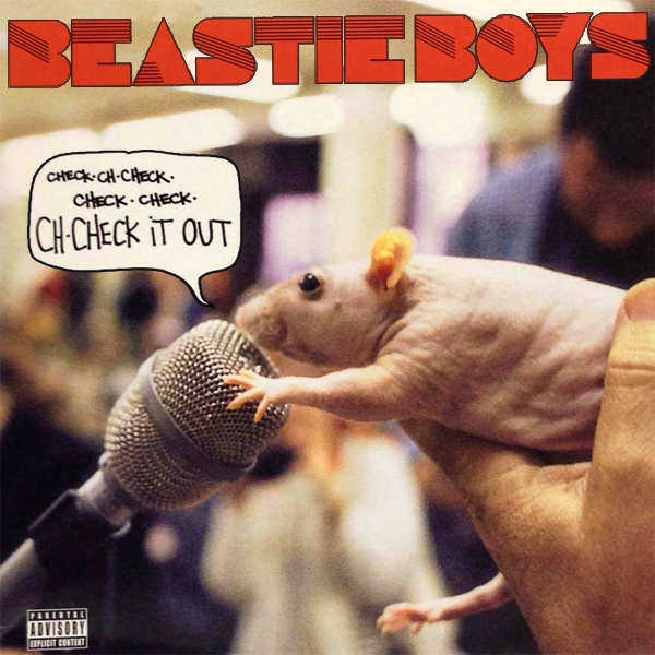 Original Cover Artwork of Beastie Boys Check It Out