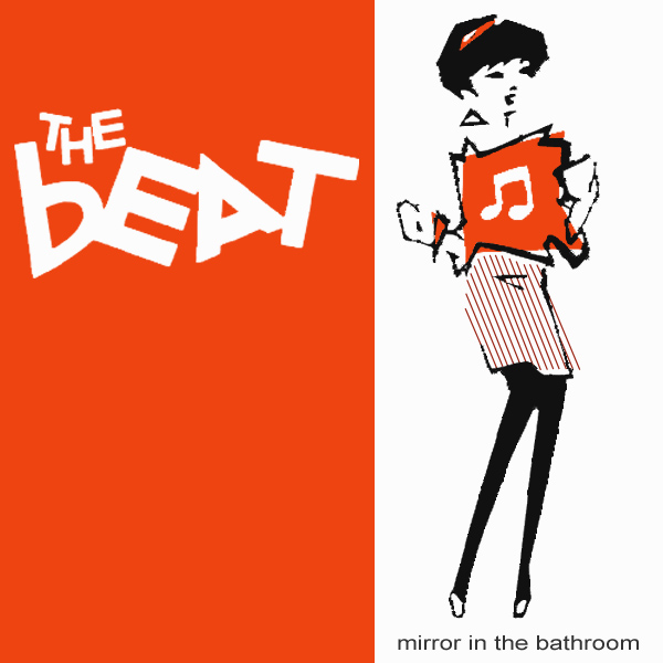 Original Cover Artwork of Beat Mirror In The Bathroom