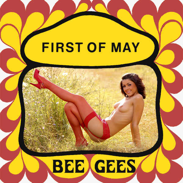 Cover Artwork Remix of Bee Gees First Of May