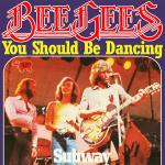 Original Cover Artwork of Bee Gees You Should Be Dancing
