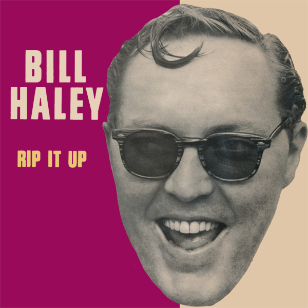 Original Cover Artwork of Bill Haley Rip It Up