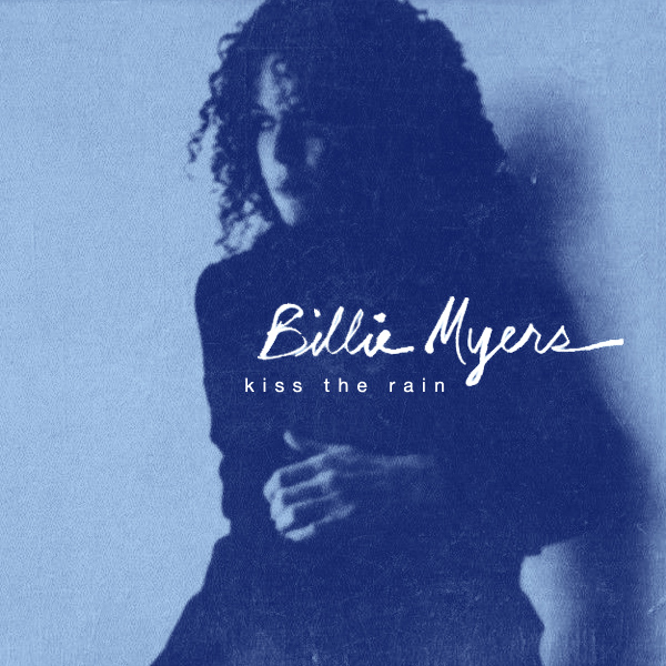 Original Cover Artwork of Billie Myers Kiss The Rain