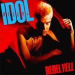 Original Cover Artwork of Billy Idol Rebel Yell