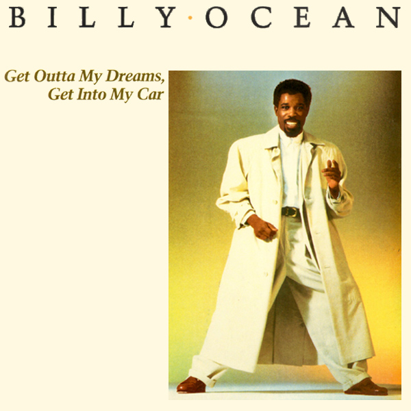 Original Cover Artwork of Billy Ocean Dreams Car