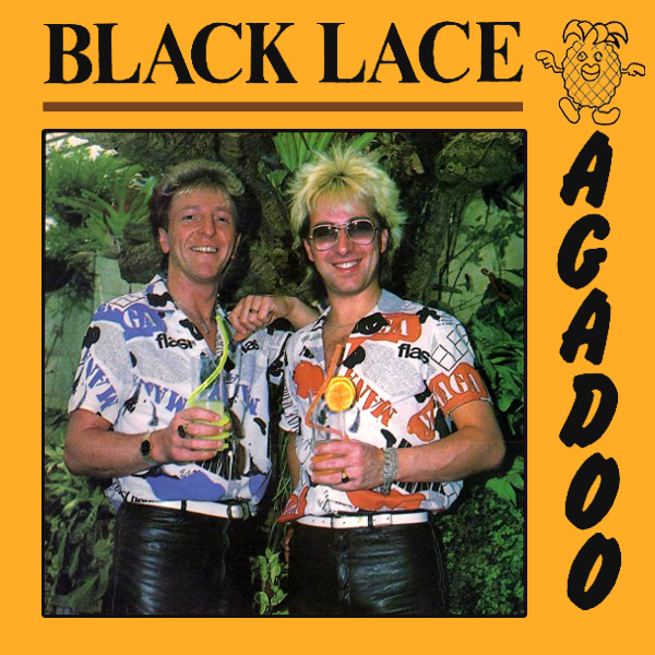 Original Cover Artwork of Black Lace Agadoo