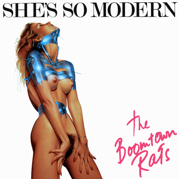 Cover Artwork Remix of Boomtown Rats Shes So Modern