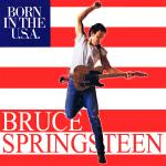 Original Cover Artwork of Bruce Springsteen Born In The Usa