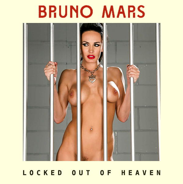 Cover Artwork Remix of Bruno Mars Locked Out Of Heaven