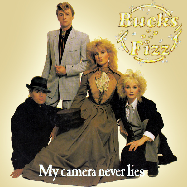 Original Cover Artwork of Bucks Fizz My Camera Never Lies