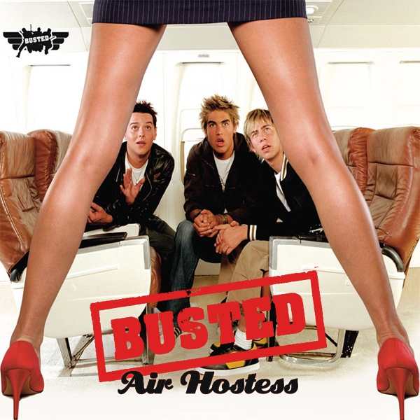 Original Cover Artwork of Busted Air Hostess