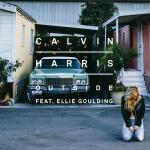 Original Cover Artwork of Calvin Harris Ellie Goulding Outside