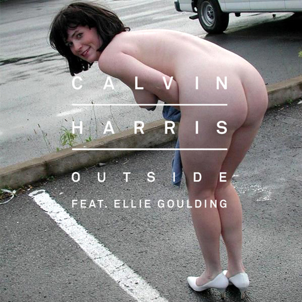Cover Artwork Remix of Calvin Harris Ellie Goulding Outside