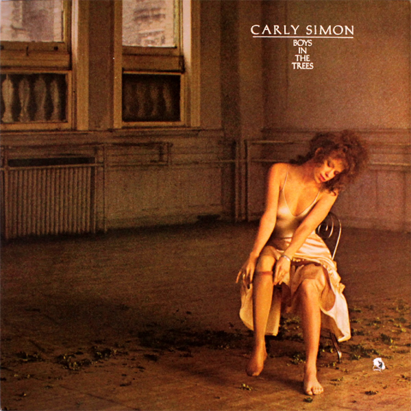 Original Cover Artwork of Carly Simon Boys In The Trees