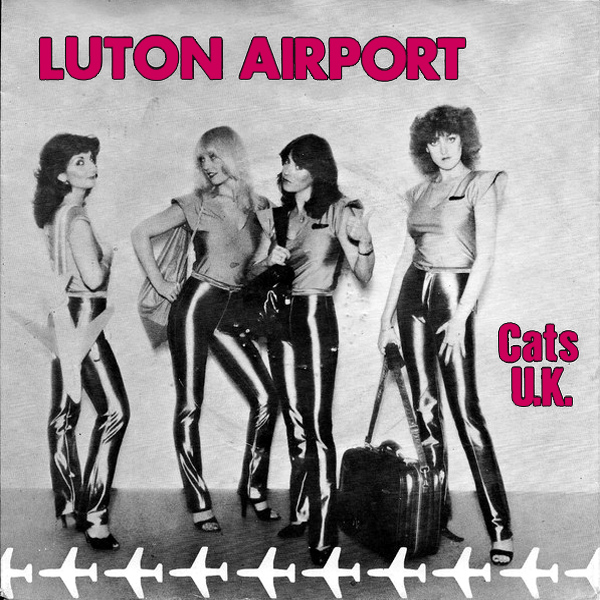 Original Cover Artwork of Cats Uk Luton Airport