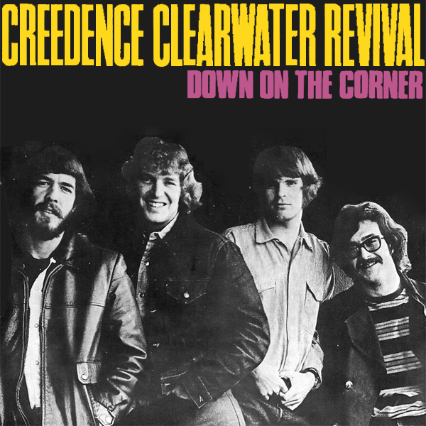 Original Cover Artwork of Ccr Down On The Corner