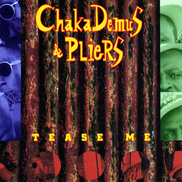 Original Cover Artwork of Chaka Demus Pliers Tease Me