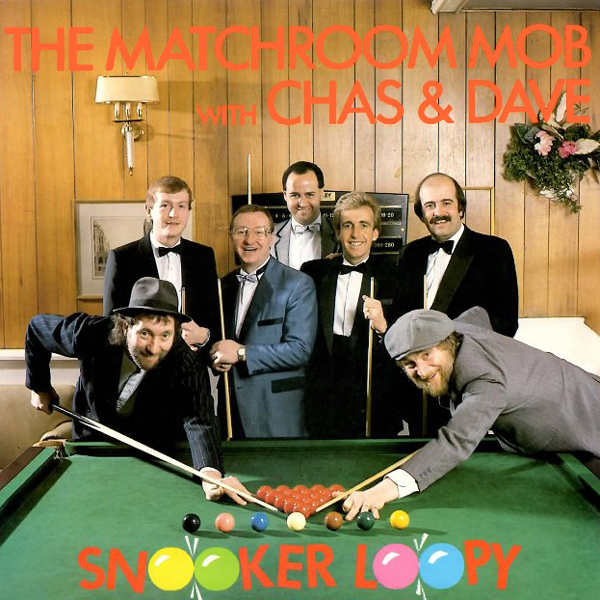 Original Cover Artwork of Chas Dave Snooker Loopy