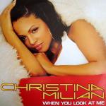 Original Cover Artwork of Christina Milian When You Look At Me
