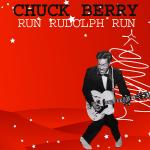 Original Cover Artwork of Chuck Berry Run Rudolph Run