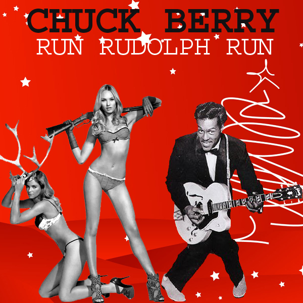 Cover Artwork Remix of Chuck Berry Run Rudolph Run