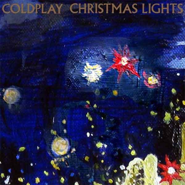 Original Cover Artwork of Coldplay Christmas Lights