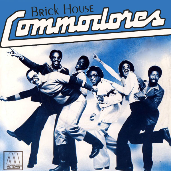 Original Cover Artwork of Commodores Brick House