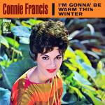 Original Cover Artwork of Connie Francis Warm This Winter