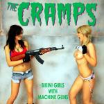 Cover Artwork Remix of Cramps Bikini With Guns