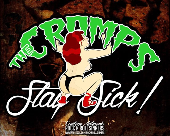 Original Cover Artwork of Cramps Stay Sick Two