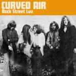 Original Cover Artwork of Curved Air Back Street Luv