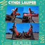 Original Cover Artwork of Cyndi Lauper Girls Just Want To Have Fun