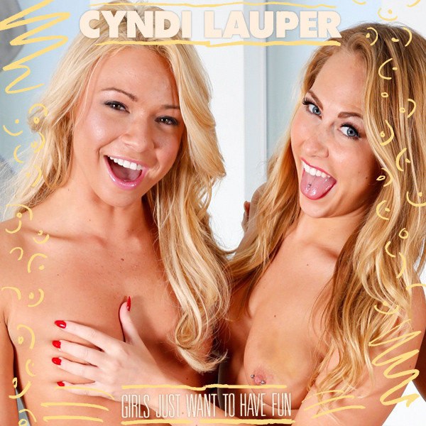 Cover Artwork Remix of Cyndi Lauper Girls Just Want To Have Fun