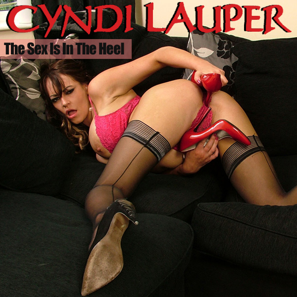 Cover Artwork Remix of Cyndi Lauper The Sex Is In The Heel