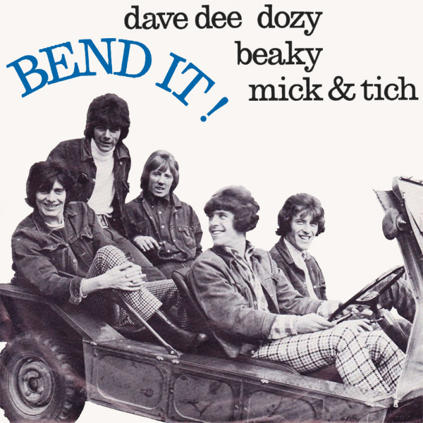 Original Cover Artwork of Dave Dee Dozy Beaky Mick And Tich Bend It
