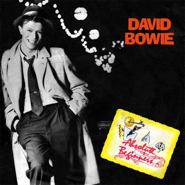 Original Cover Artwork of David Bowie Absolute Beginners