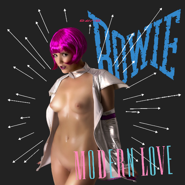 Cover Artwork Remix of David Bowie Modern Love