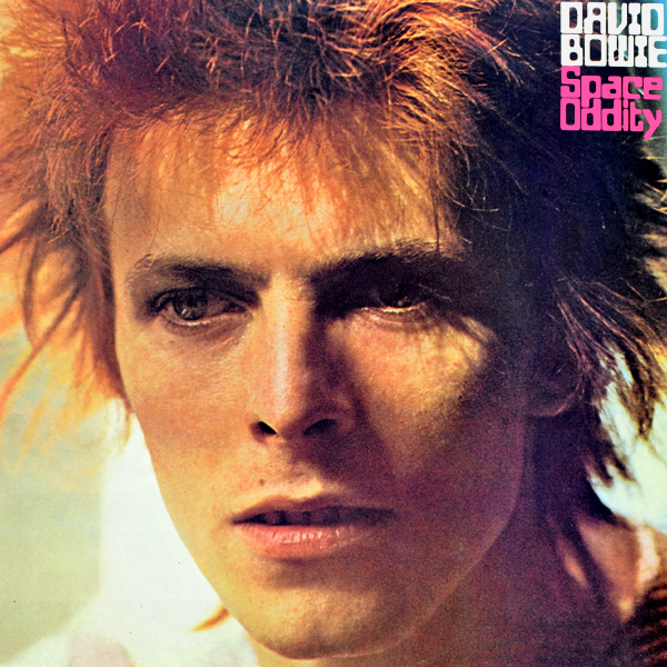 Original Cover Artwork of David Bowie Space Oddity