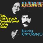 Cover artwork for Say, Has Anybody Seen My Sweet Gypsy Rose - Dawn Featuring Tony Orlando