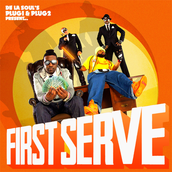 Original Cover Artwork of De La Soul First Serve