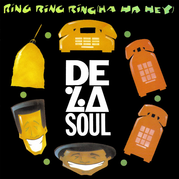 Original Cover Artwork of De La Soul Ring Ring Ring
