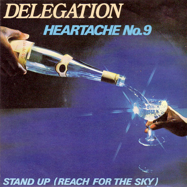 Original Cover Artwork of Delegation Heartache No 9