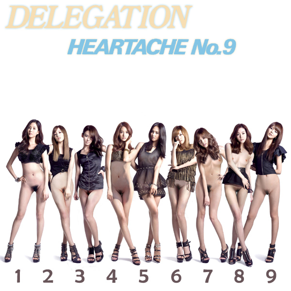 Cover Artwork Remix of Delegation Heartache No 9