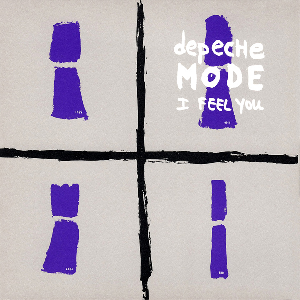 Original Cover Artwork of Depeche Mode I Feel You